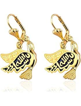X & Y ange- New Fashion Dove of Peace vergoldet baumeln Ohrringe