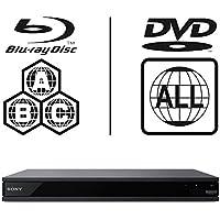 Sony UBP-X800.CEK MULTIREGION 4K Ultra HD ICOS Multi Region All Zone Code Free Blu-ray Player. Blu-ray zones A, B and C, DVD regions 1 - 8.