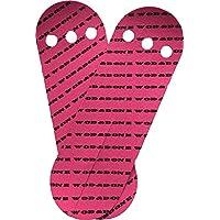 Cintas protectoras WOD&DONE para manos para gimnasia y atletismo, 10pk, Fucsia