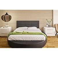 Hogar24-Cabecero cama tapizado 155 x 55 x 3,0 cm, válido para cama 135 y 150 cm. Color Negro