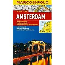MARCO POLO Cityplan Amsterdam 1:15 000: Stadsplattegrond 1:15 000 (MARCO POLO Citypläne)