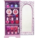Princesas Disney - Vístete para la fiesta, armario de maquillaje (Markwins 9347500)