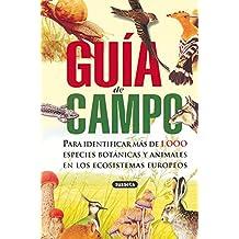 Guia de campo/ Field guide