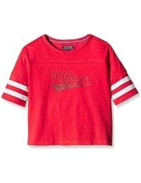 Tommy Hilfiger Suzzy Cn Knit S/S - T-shirt de sport - Fille