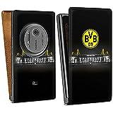 Nokia Lumia 1020 Tasche Schutz Hülle Walletcase Bookstyle Borussia Dortmund BVB Stadion