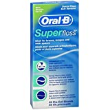 Oral B Super Floss, Dental Floss, Original (50-Count)