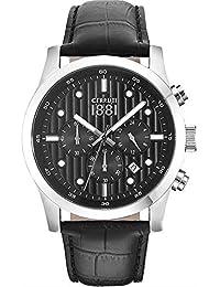 Cerruti 1881 CRA108SN02BK Reloj de pulsera para hombre