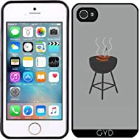 Custodia in silicone per Iphone 5/5S - Barbecue Con Salsicce by ilovecotton