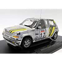 Norev NV185215 1: 18 1989 Renault Supercinq GT Turbo – Tour de Corse 1989