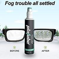 N/Z Spray Anti Appannamento Occhiali, Antifog Spray, per Occhiali da Vista, Nuoto Paintball, Occhiali da Sole, Maschera Sub, Formula atossica di Lunga Durata(15ml)