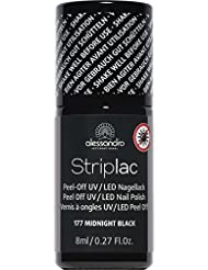 alessandro Striplac 77 Midnight black, 1er Pack (1 x 8 ml)