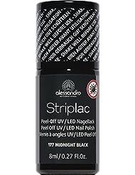alessandro Striplac 177 Midnight black, 1er Pack (1 x 8 ml)