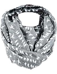 Damen Tuch Schal Batik Muster Pastell Farbe warm weich Frauen Halstücher