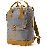 Puma Campus Woven Backpack, Unisex Adulto, Black/Buckthorn Brown, OSFA