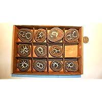 Septarie, Geode, Septarien-Paare, Sammlung 11 Stück, ca. 410g, mit wunderschönen Strukturen. preisvergleich bei billige-tabletten.eu