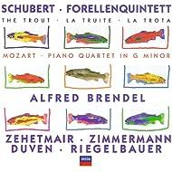 Schubert: Forellenquintett / Mozart: Piano Quartet in G minor