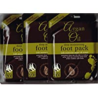 Multi Pack Deep Moisturising Foot Pack with Morrocan Argan Oil Extract by Xpel Marketing
