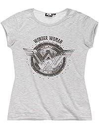 Batman vs Superman Femme Tee-shirt 2016 Collection - gris