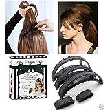 Blackbond Hair Clip Volumizing Puff Maker Hair Clip For Women Set Of 5 Pcs