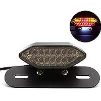 TUINCYN Luz de freno e intermitente, para moto, LED integrada, 2 en 1, para freno trasero, accesorios de montaje, 1 unidad