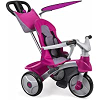 FEBER - Triciclo Baby Trike Easy Evolution, Color Rosa (Famosa 800009561)