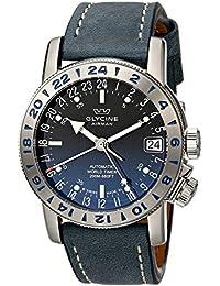 GLYCINE AIRMAN 17 relojes hombre 3917.18 LB8B
