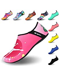 IceUnicorn Water Shoes Mens Womens Outdoor Swim Barefoot Socks Skin Shoes for Beach Running Snorkeling Surfing Diving Yoga Exercise