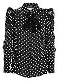 Elisabetta Franchi Femme CA04481E2110 Noir Polyester Chemise