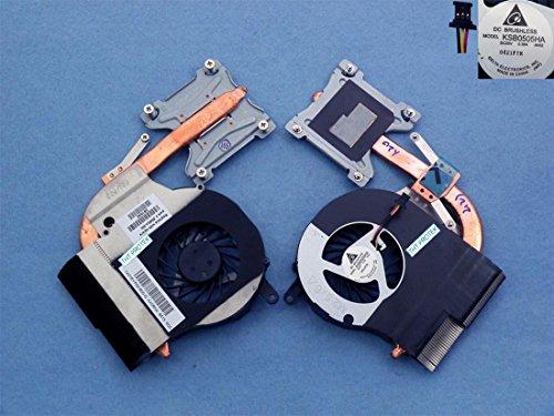 Compaq Kühlkörper (Lüfter Kühler FAN mit Kühlkörper version 1 komp. für HP Compaq Presario CQ56)