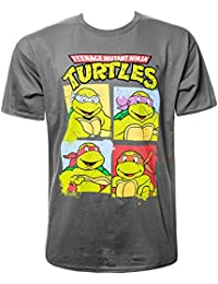 Teenage Ninja Mutant Turtles Group Shot T Shirt (Grau)