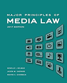 Major Principles of Media Law 2017 (1305646509) | Amazon price tracker / tracking, Amazon price history charts, Amazon price watches, Amazon price drop alerts
