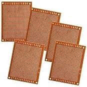 5pcs 5x7cm Solder fertigen Prototypen PCB für DIY Circuit Board Breadboard
