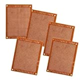 5pcs 5x7cm Solder Finished Prototype PCB for DIY...