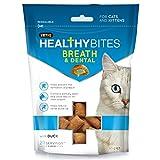 Mark & Chappell VetIQ Gesunde Bites Atem & Dental für Katzen und Kätzchen (65gr) (Kann Variieren)