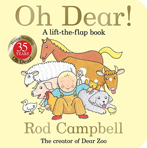 Oh Dear! 35th Anniversary Edition por Rod Campbell