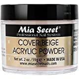 Mia Secret tapa de acrílico polvo, 60 ml, Beige