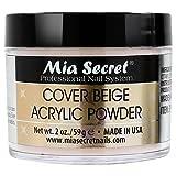 Mia Secret tapa de acrílico polvo, 60ml, Beige