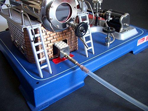 Gas Kermik Brenner für alle Wilesco Dampfmaschinen mit Ventil