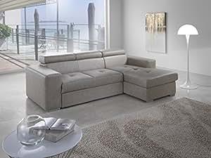 divano letto angolare mod frank con penisola dx econabuk