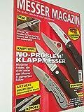 Messer Magazin Nr. 4 / 2008 Test: Eickhorn Pohl One, Spyderco Tentacious, Messerkönig Darkstalker, Fällkniven PXL Magnum. Die große Zeitschrift rund ums Messer. 4195012305000