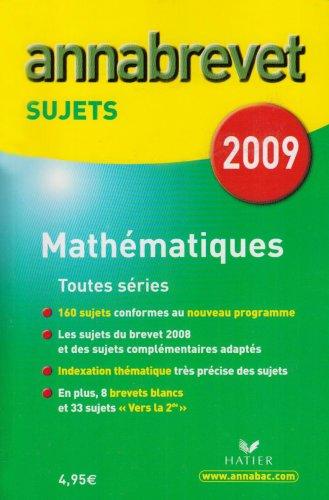 Mathématiques 3e : Sujets
