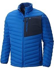 Mountain Hardwear stretchdown–Chaqueta de esquí para hombre, hombre, Altitude Blue