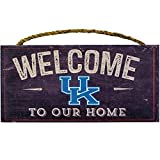 51F 9UKjdvL. SL160  BEST BUY UK #1Kentucky Wildcats College University NCAA Team Logo Garage Home Office Room Wood Sign with Hanging Rope   WELCOME TO OUR HOME by LA Auto Gear price Reviews uk