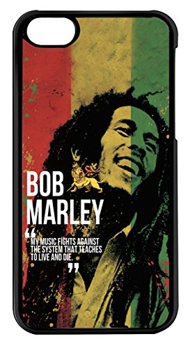 blackase - Cover iPod Touch 6 - bob marley Bandiera Giamaica - ref 209