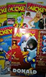 Le Journal de Mickey n° 2937-2941 - octobre 2008 - lot de 5 magazines par Revue