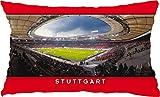 Blue-Letter Stuttgart Stadionpostkarten-Kissen (60 cm x 40 cm)