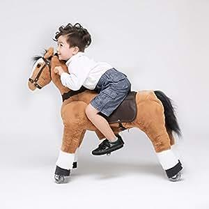 Ufree action pony pony da montare cavallo a dondolo for Mobile per bambini
