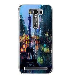Eiffel Tower 2D Hard Polycarbonate Designer Back Case Cover for Asus Zenfone Selfie ZD551KL