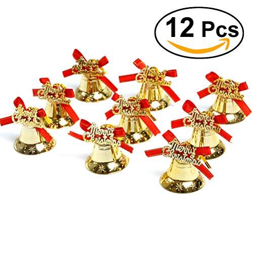 Weihnachtsbaum Glocken rosenice Weihnachten zum aufhängen Anhänger Dekorationen 12