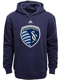 MLS Youth Boys 8-20 Primary Logo Fleece Hoodie